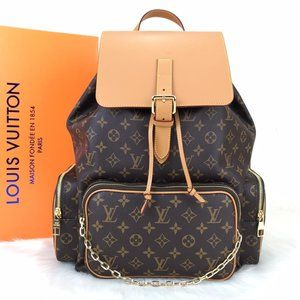 %100 Leather Louis vuitton Trio Backpack